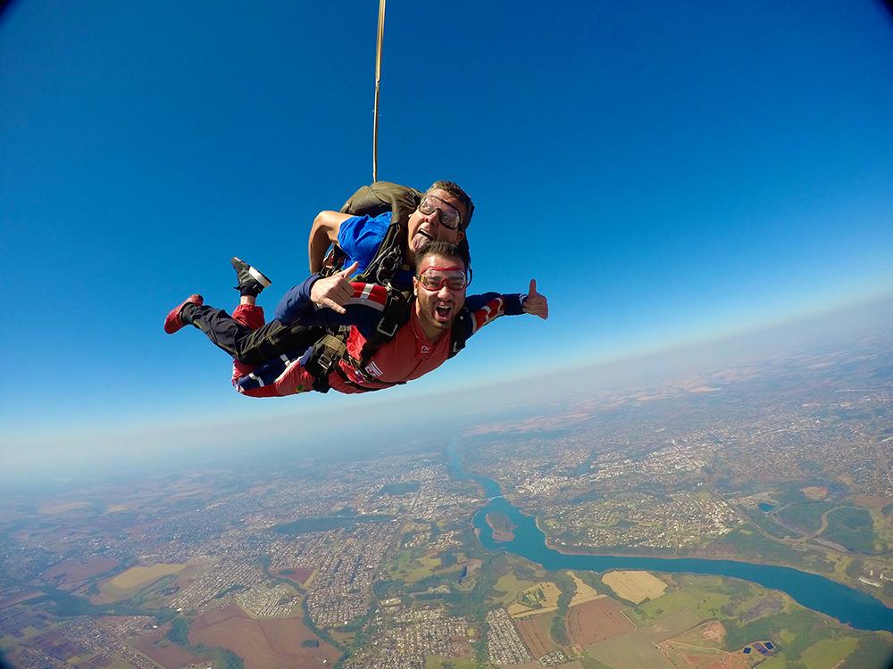 Aria Skydiving in Brazil
